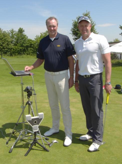 Craig Hanson mit Bart Van der Wind