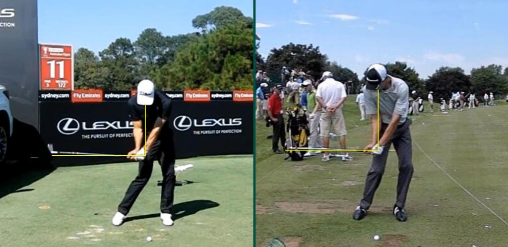 Position eins – Die Professionellen Golfer