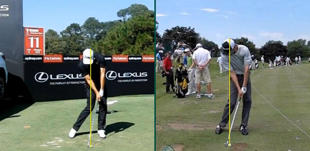 Position zwei – Die Professionellen Golfer