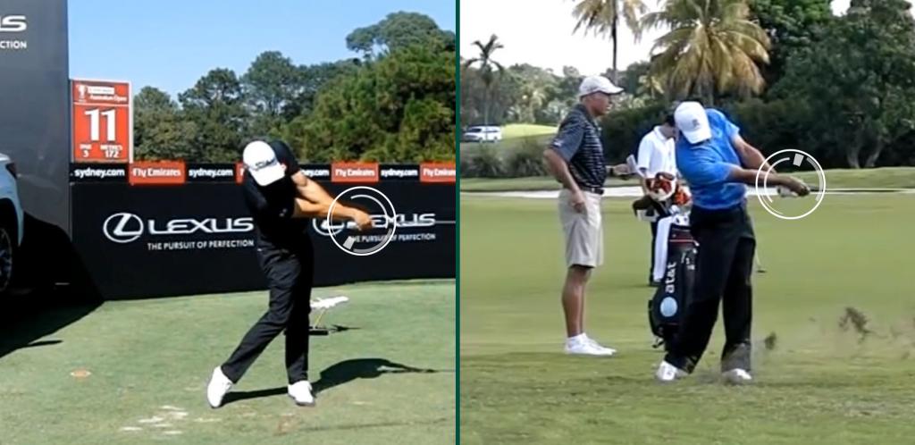 Position drei – Die Professionellen Golfer